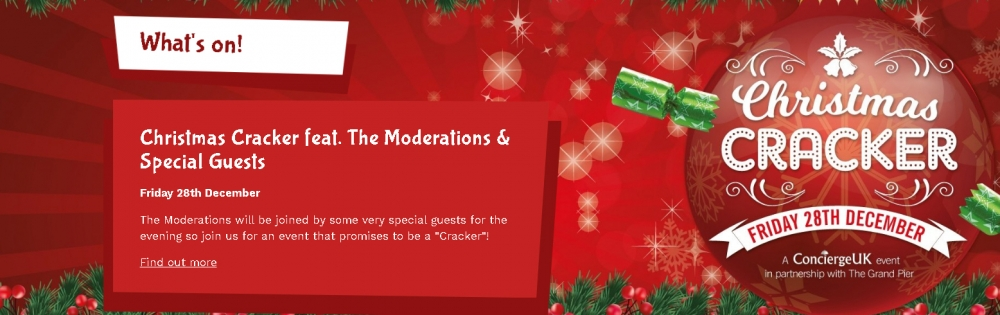 The Moderations Grand Pier Christmas Cracker