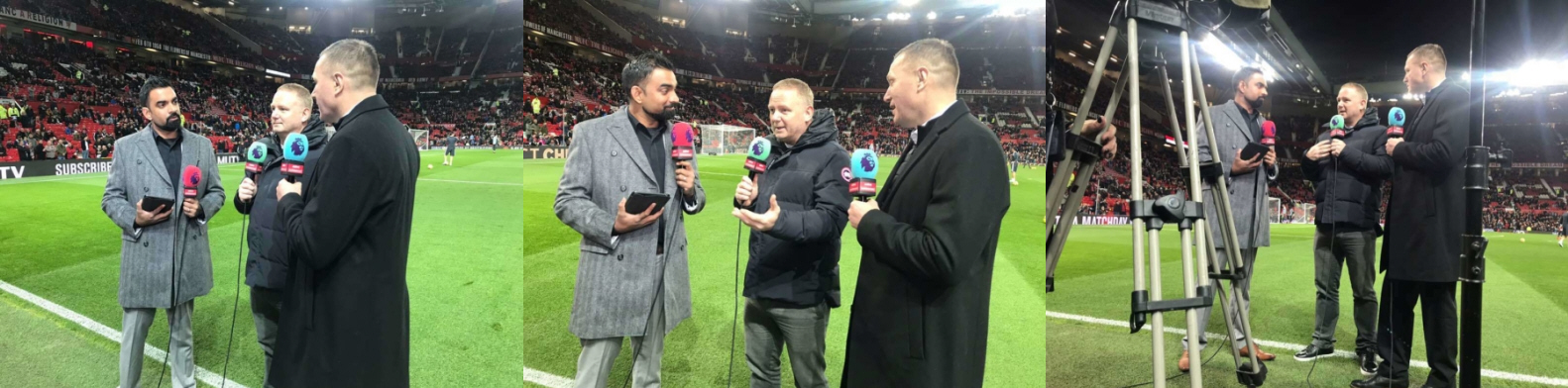 Pitchside Manchester United