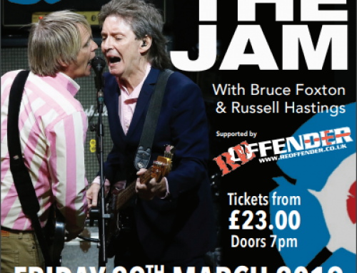 From The Jam – RESCHEDULED DATE