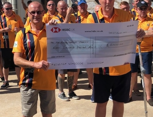 £8,000 Raised For The Royal Marines Charity!
