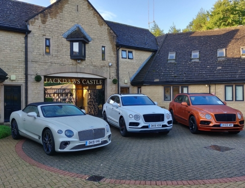 Jonjo O'Neill Stable Tour & Bentley Driving Experience with BLG Development Finance